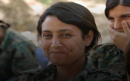 barin kobane guerrilheira mutilada pelos jihadistas